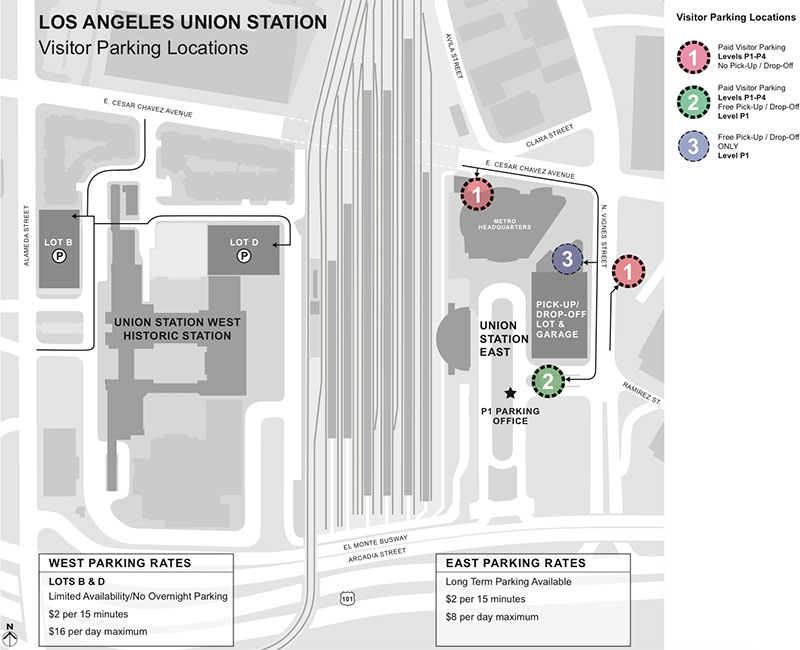 Visiting Union Station Los Angeles   Directions, Parking