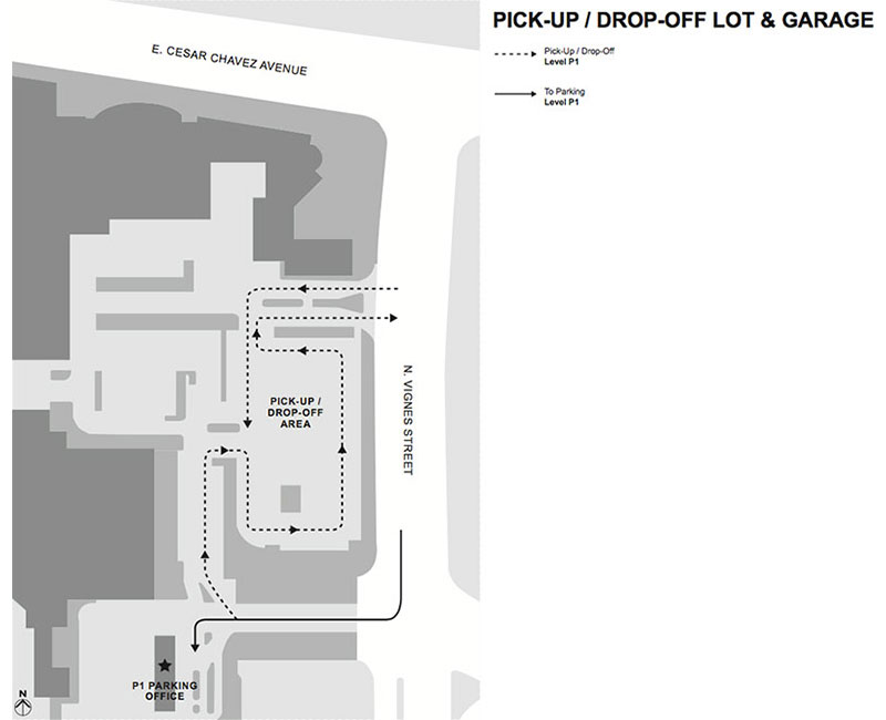 Union Station Pick-up & Drop-off Map